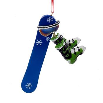 Snowboard Personalization Ornament