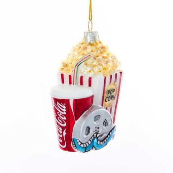 Coke Pop Glass Ornament