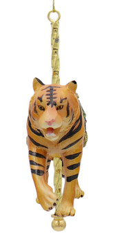 Carousel Tiger Ornament Front