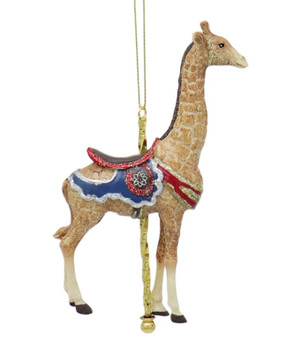 Carousel Giraffe Ornament