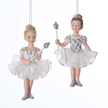 White and Silver Ballet Princess