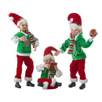 Sports Posable Elf Doll Shelf Sitter