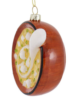 Japanese Miso Soup Glass Ornament Side
