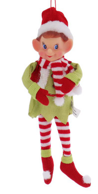 Christmas Elf Doll Ornament