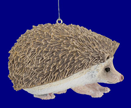 "Hedgehog Ornament, 3 3/4"", break resistant #SL6847"