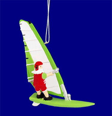 "Wind Surfing  Ornament, 3 7/8"", #MW658253"