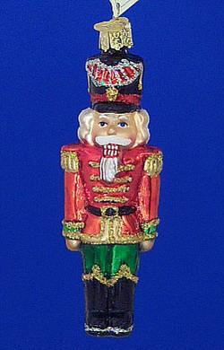 Nutcracker General Old World Christmas Glass Ornament 44043
