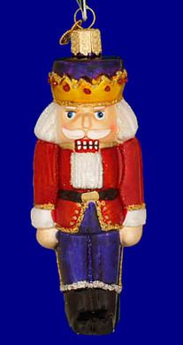Nutcracker Prince Old World Christmas Glass Ornament 44007