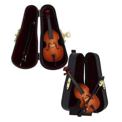 Mini Upright Bass Gift Set, 4 pc - Bass Fiddle