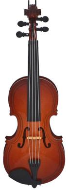 Mini Violin Ornament - Wood