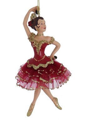 Spanish International Dancer Ornament