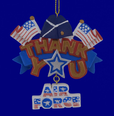 Air Force Thank You Ornament 133174