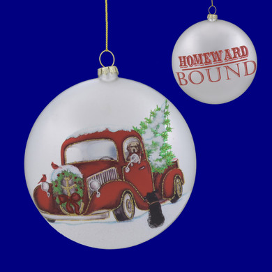 Homeward Bound Disk Ornament