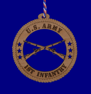 US Army 1st Infantry Ornament