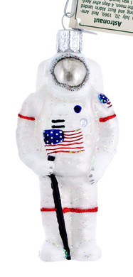 Astronaut Glass Ornament 24182 Old World Christmas