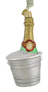 Chilled Champagne Glass Ornament 32328 Old World Christmas