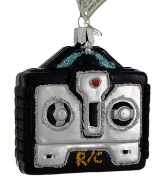 Drone or Toy Remote Control Glass Ornament 44120