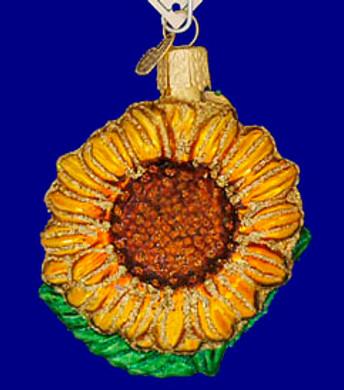 Garden SunflowerKansas Flower Old World Christmas Glass Ornament 36124
