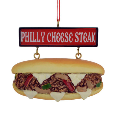 "Philly Cheese Steak Ornament, 2 1/4 x 3"", KAA1786"