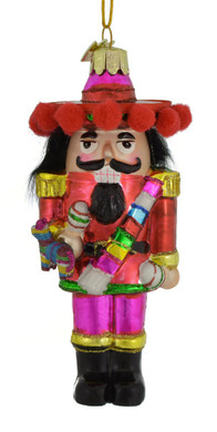 Mexican Nutcracker Glass Ornament nb1325