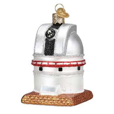 "Astronomy Observatory Glass Ornament, 3 1/4"", OWC# 20107"