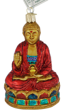 Buddha Glass Ornament 36257