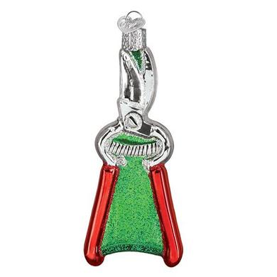 "Garden Pruners Glass Ornament, 4 1/2"", OWC# 36265"