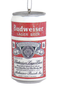 Small Budweiser Beer Can Ornament