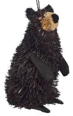 Buri Black Bear Standing Ornament