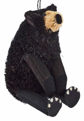 Buri Black Bear Sitting Ornament