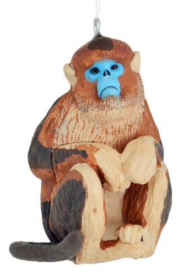 Golden Snub-Nosed Monkey Ornament