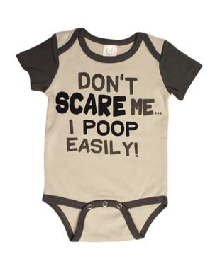 I Poop Easily Halloween Baby Onesie 0-6 months, MWEH50088