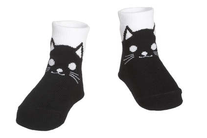 Black Cat Baby Socks 0-12 months, MWEH50562