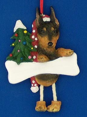 Personalized Mini Pinscher Ornament