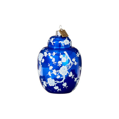 "Orient Ginger Jar Glass Ornament, 3 3/4"", RA3953035"
