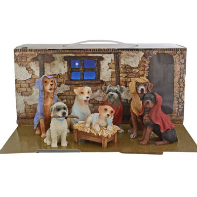 Dog Nativity 7 pc Set