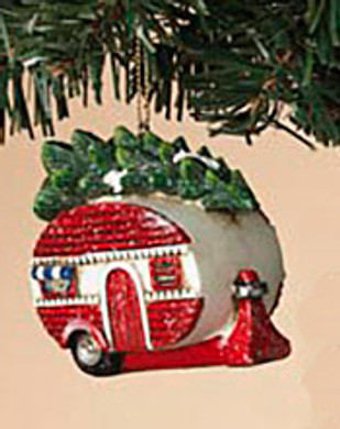 "Retro Holiday Vehicle - Camper Ornament, 3 3/4"", ST2420930-cmpr"