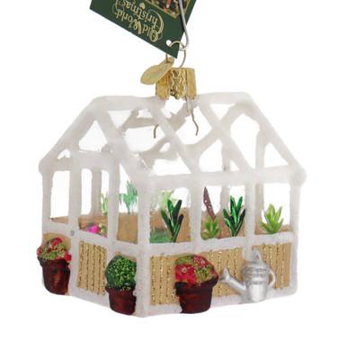 Greenhouse Glass Ornament