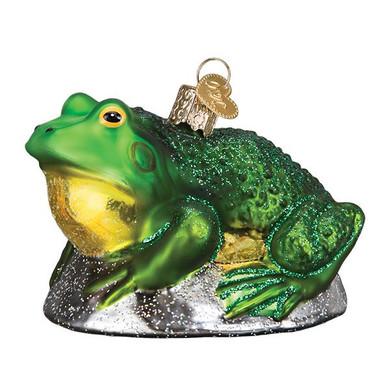 Bullfrog Glass Ornament
