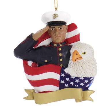 Hispanic Marine Ornament