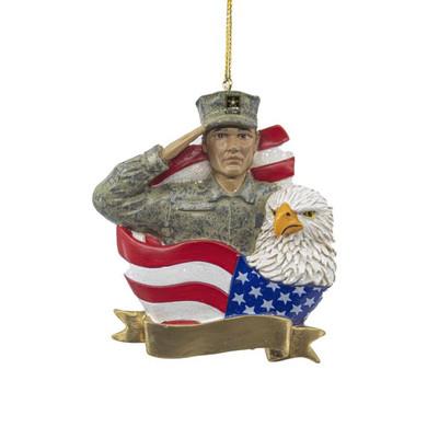 U.S. Air Force Snowman Ornament