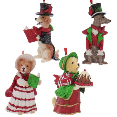 Dickens - Early American Male Beagle Ornament