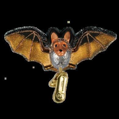 Clip-On Bat Glass Ornament