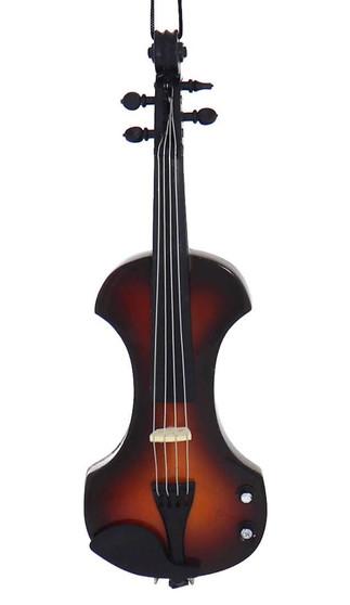 Mini Electric Violin Ornament
