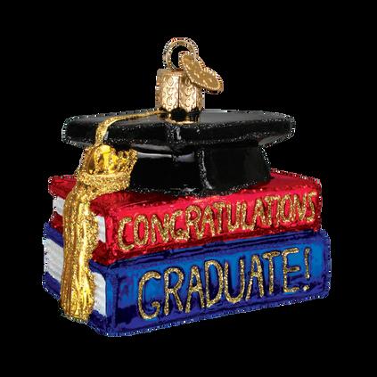 Graduation Glass Ornament