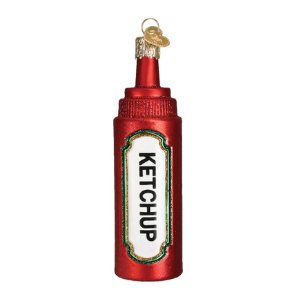 Ketchup Glass Ornament 32358 Old World Christmas