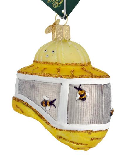 Beekeepers Hood Old World Christmas Glass Ornament 36227