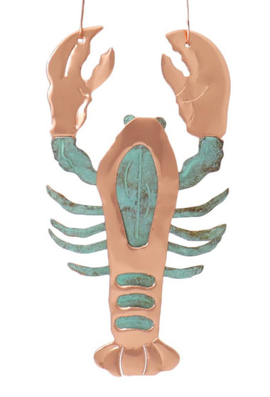 Lobster Copper Ornament