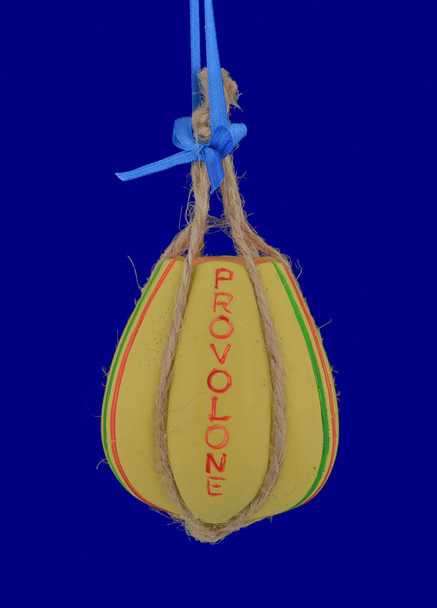 Provolone Italian Deli Cheese Ornament