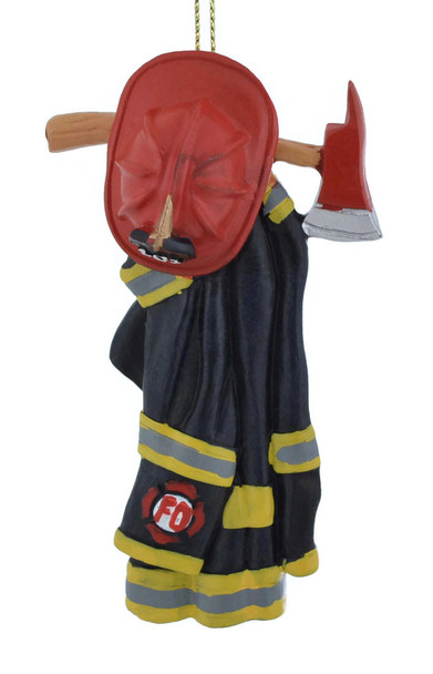 Firefighter Uniform and Axe Ornament